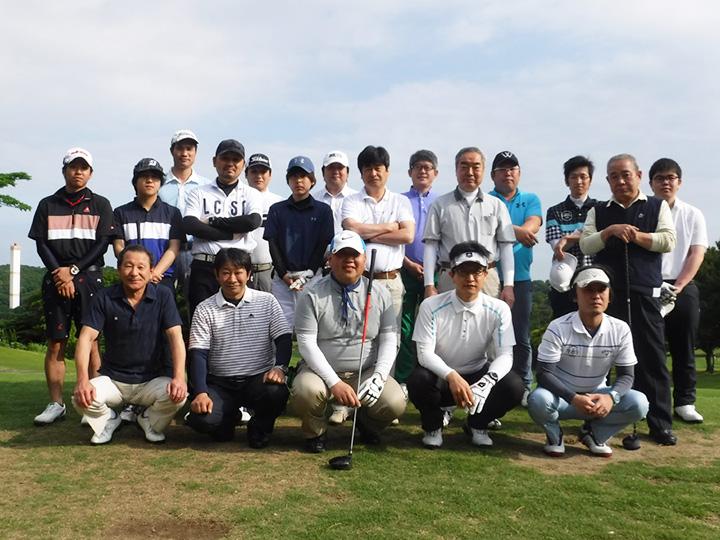 ゴルフ大会の写真1